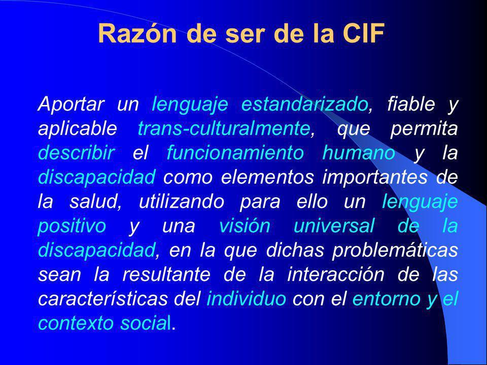 Razón de ser de la CIF