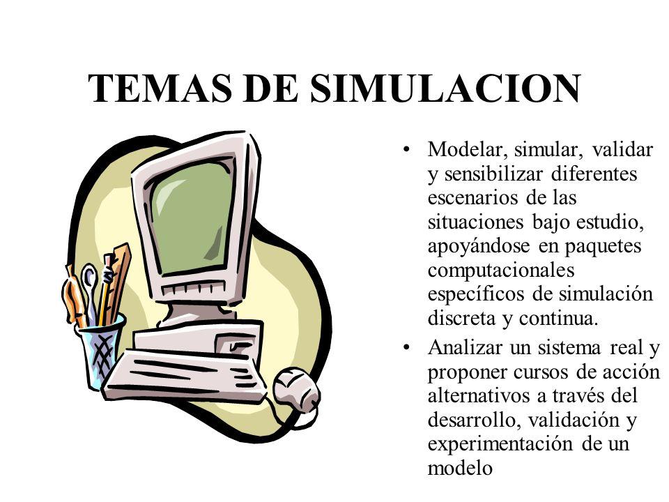 TEMAS DE SIMULACION