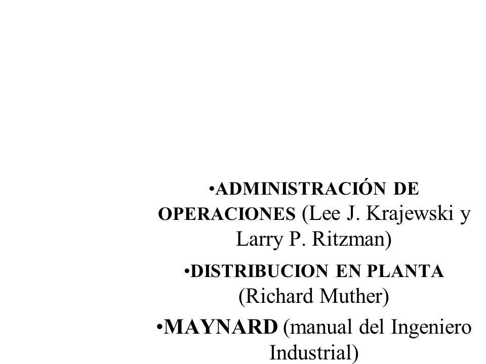 LIBRO RECOMENDADO MAYNARD (manual del Ingeniero Industrial)