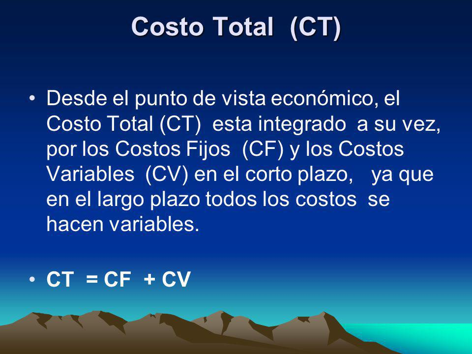 Costo Total (CT)