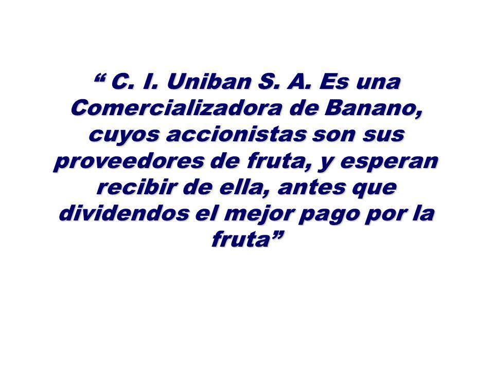 C. I. Uniban S. A.