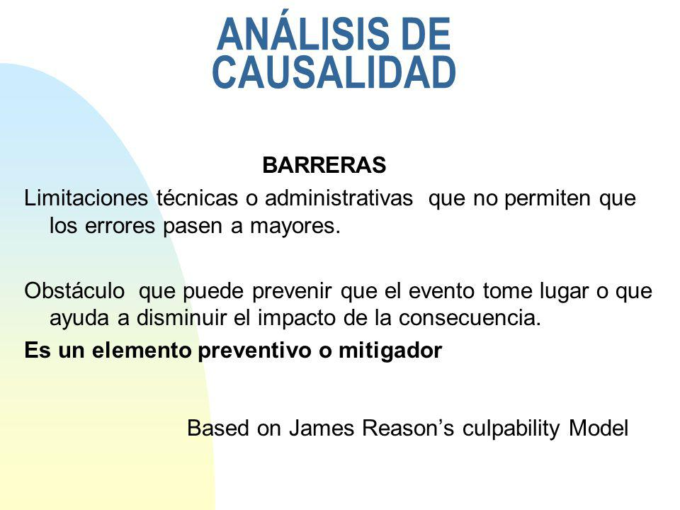 ANÁLISIS DE CAUSALIDAD