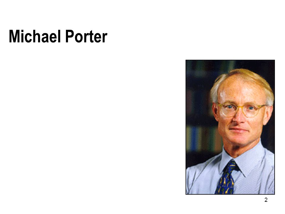 Michael Porter 2