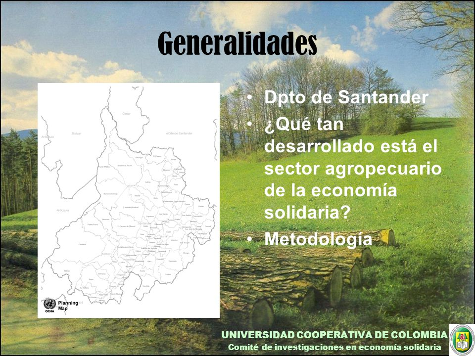 Generalidades Dpto de Santander