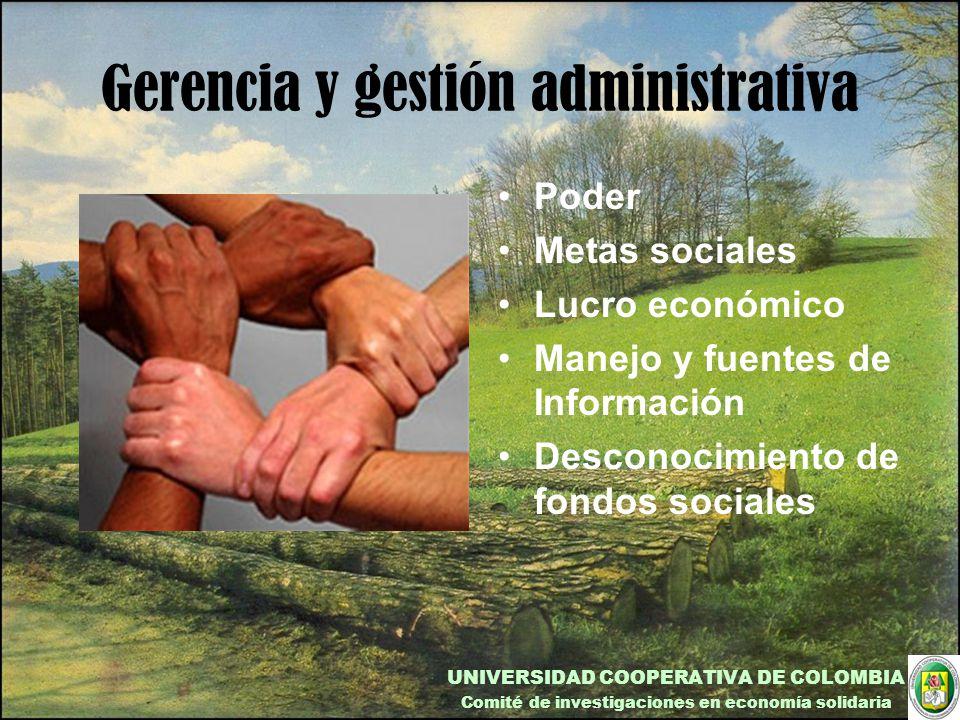 Gerencia y gestión administrativa