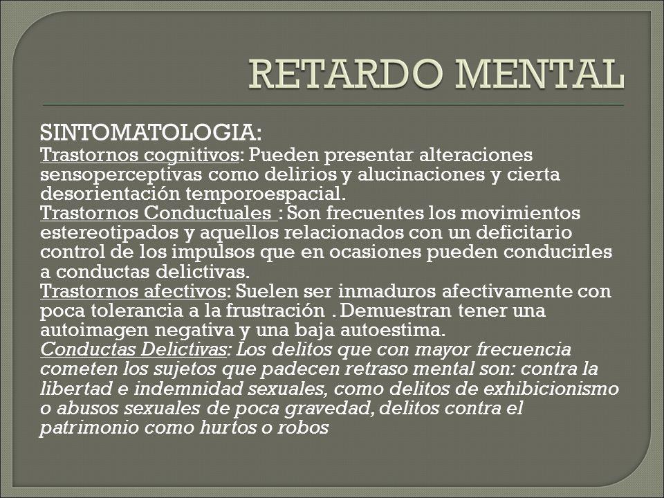 SINTOMATOLOGIA: