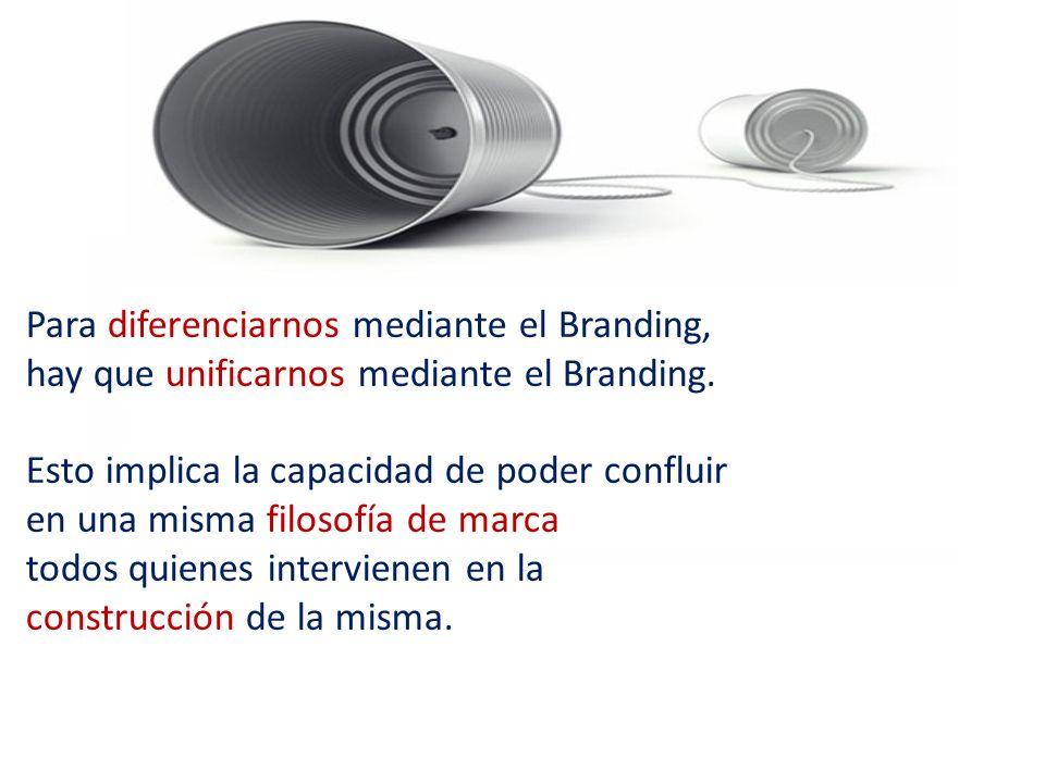 Para diferenciarnos mediante el Branding,