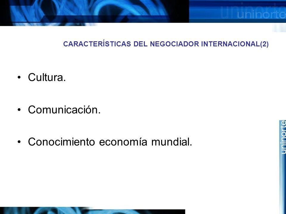 CARACTERÍSTICAS DEL NEGOCIADOR INTERNACIONAL(2)