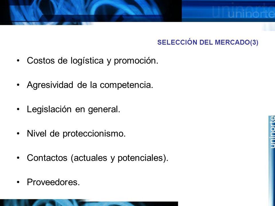 SELECCIÓN DEL MERCADO(3)
