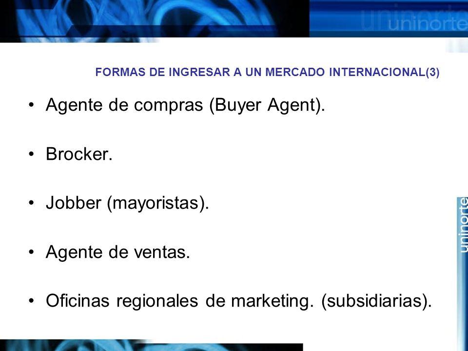 FORMAS DE INGRESAR A UN MERCADO INTERNACIONAL(3)