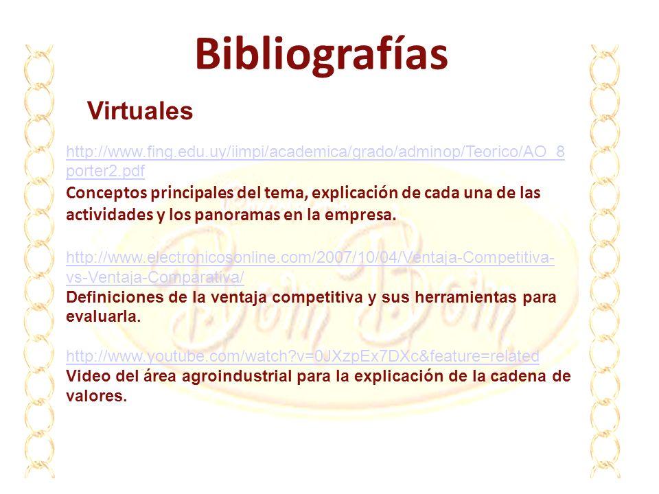 Bibliografías Virtuales