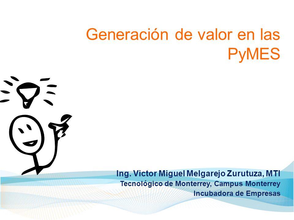 Generación de valor en las PyMES