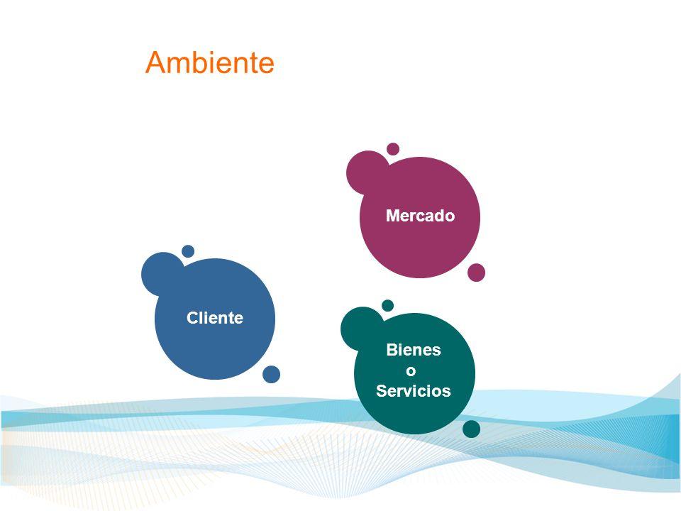Ambiente Mercado Cliente Bienes o Servicios
