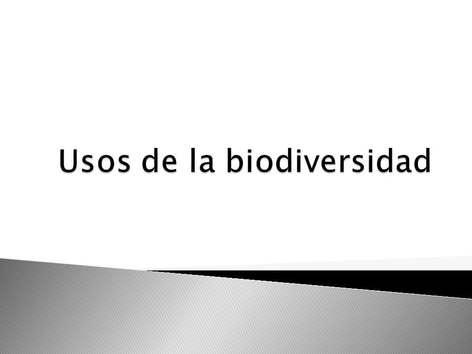 Usos de la biodiversidad