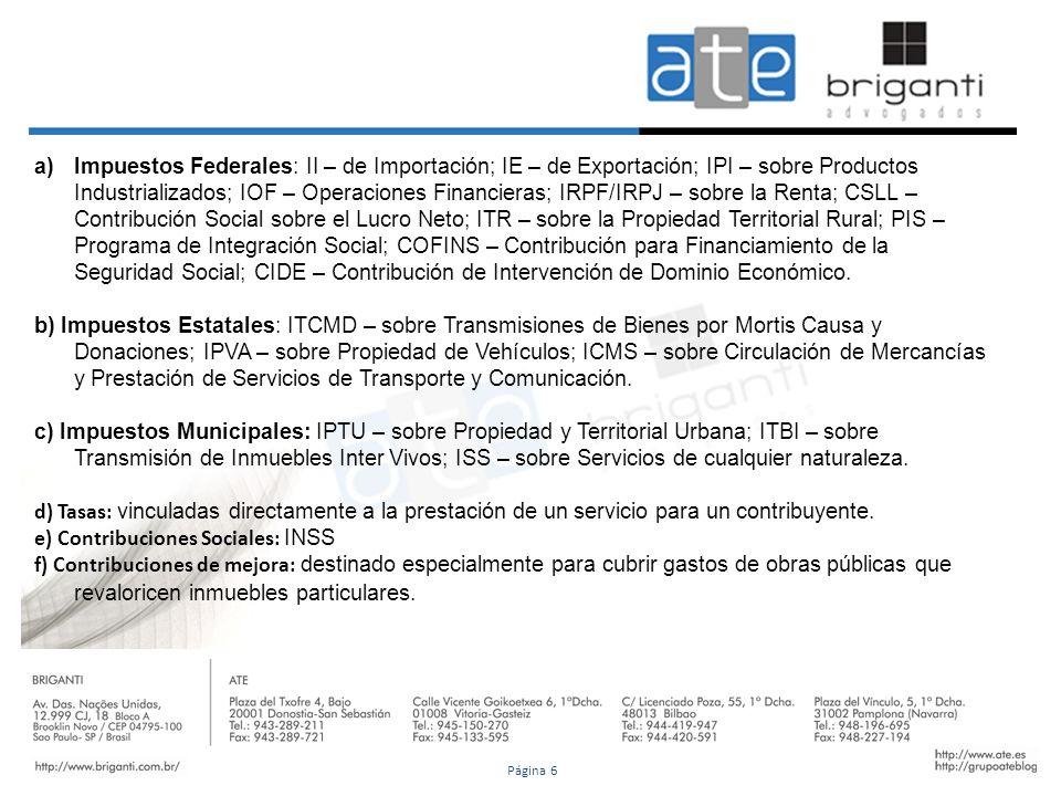 e) Contribuciones Sociales: INSS