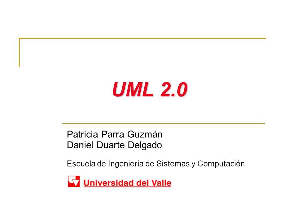 UML 2.0 Patricia Parra Guzmán Daniel Duarte Delgado