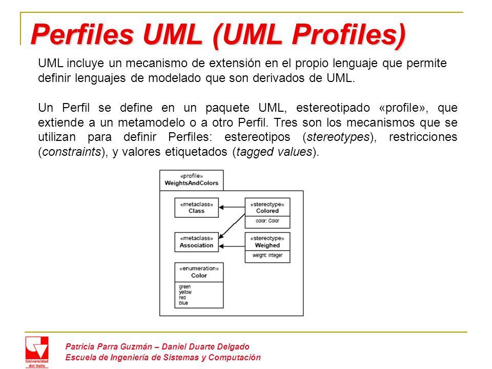 Perfiles UML (UML Profiles)