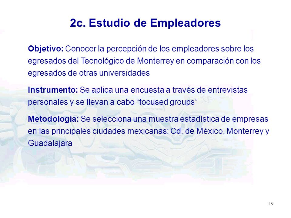 2c. Estudio de Empleadores