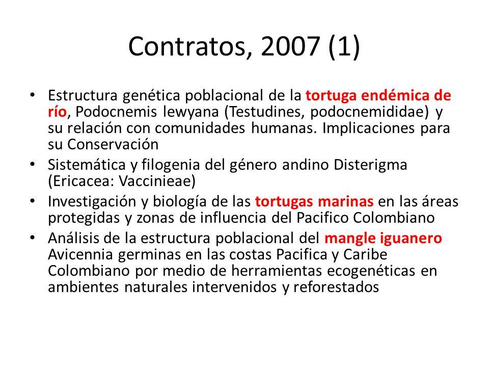 Contratos, 2007 (1)