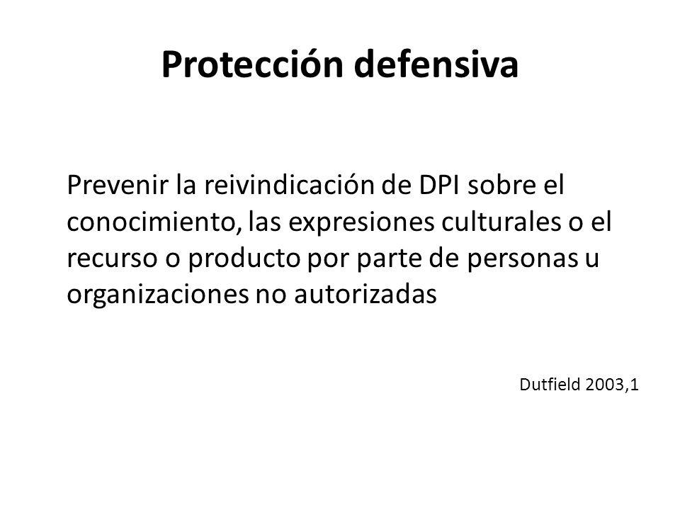 Protección defensiva