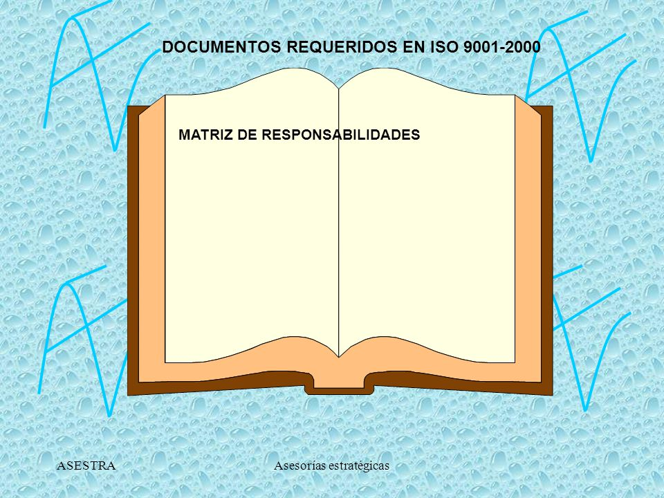 DOCUMENTOS REQUERIDOS EN ISO 9001-2000