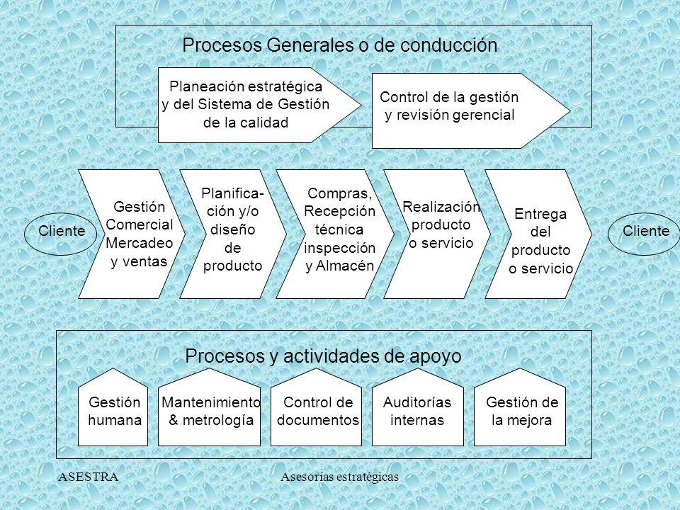 Procesos Generales o de conducción