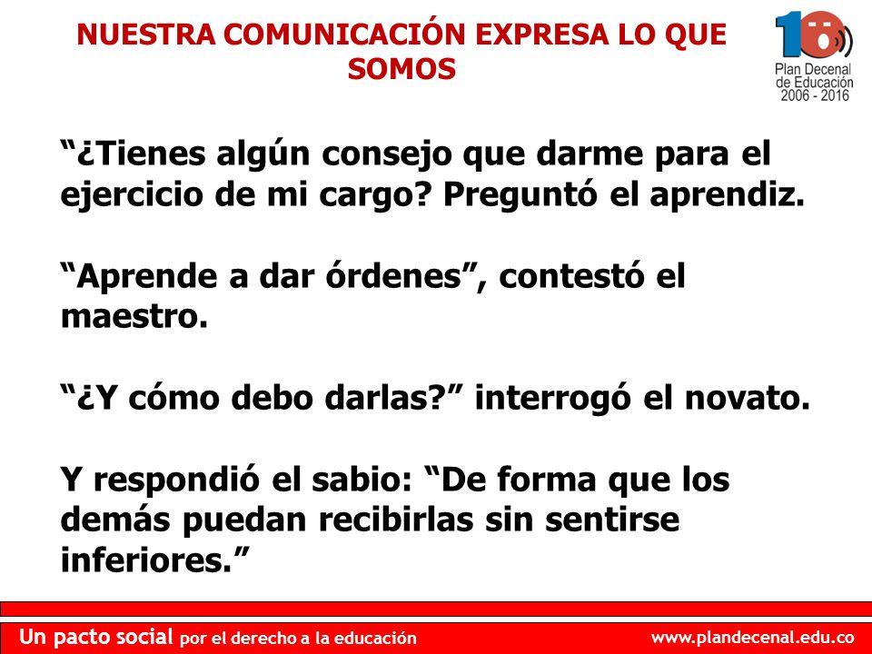 NUESTRA COMUNICACIÓN EXPRESA LO QUE SOMOS