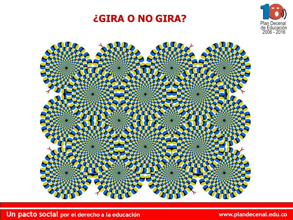 ¿GIRA O NO GIRA