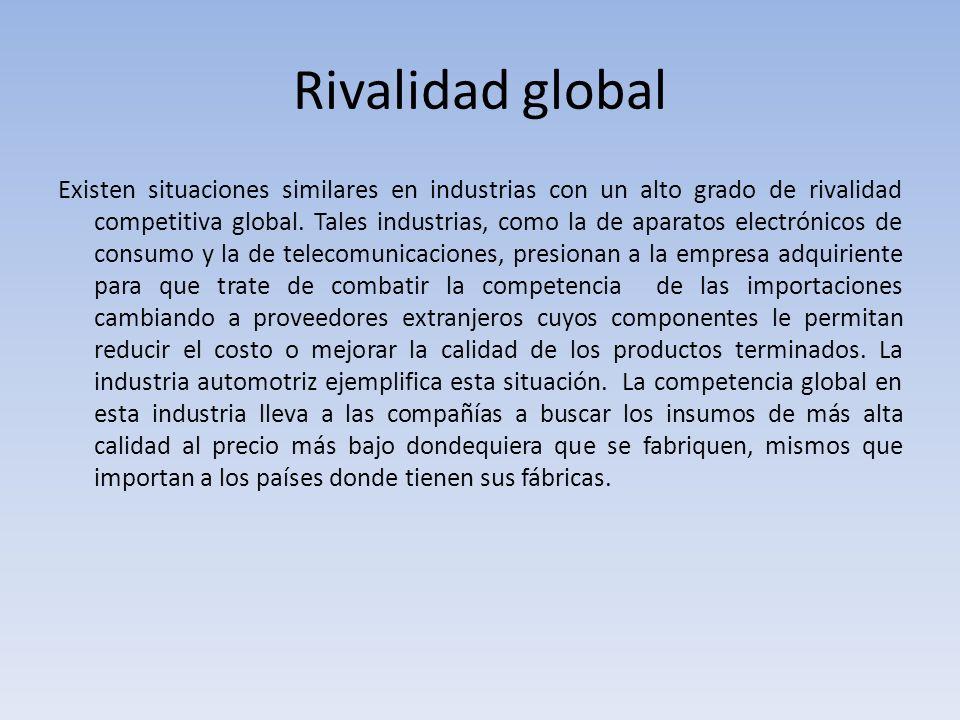 Rivalidad global