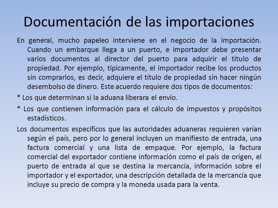 Documentación de las importaciones
