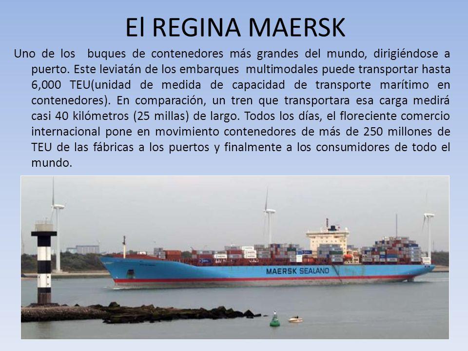 El REGINA MAERSK