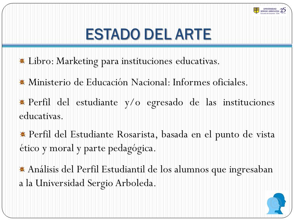 ESTADO DEL ARTE Libro: Marketing para instituciones educativas.