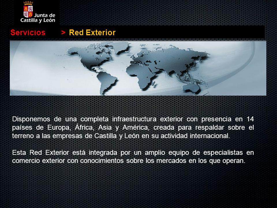 Servicios > Red Exterior