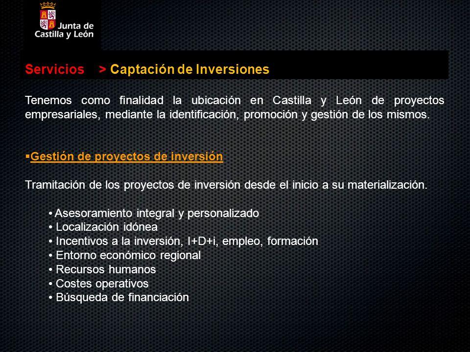 Captación de Inversiones