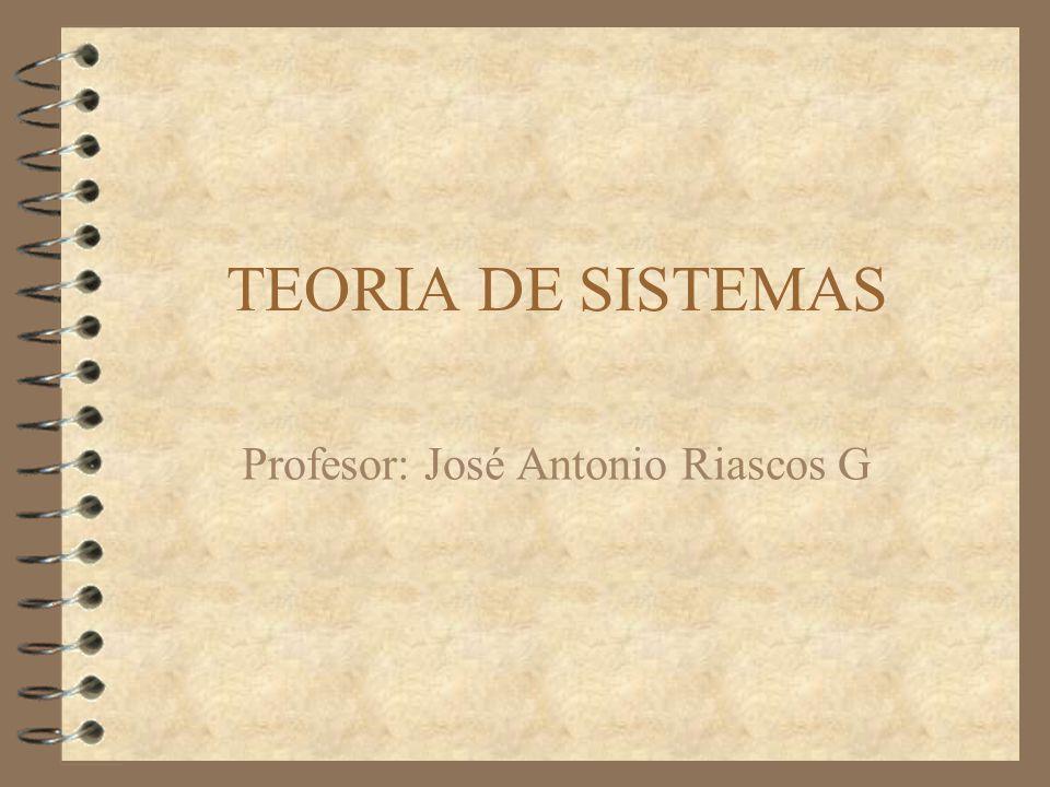 Profesor: José Antonio Riascos G