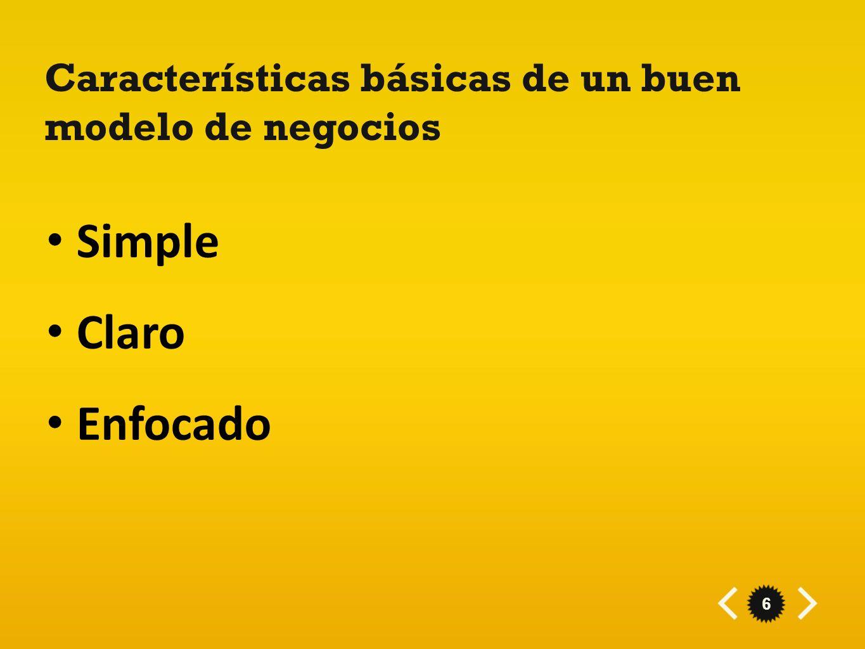 Características básicas de un buen modelo de negocios