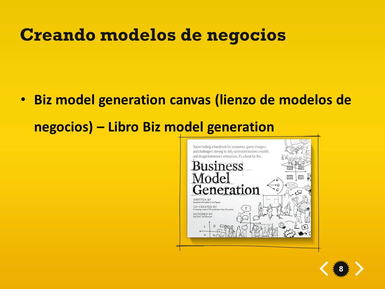 Creando modelos de negocios