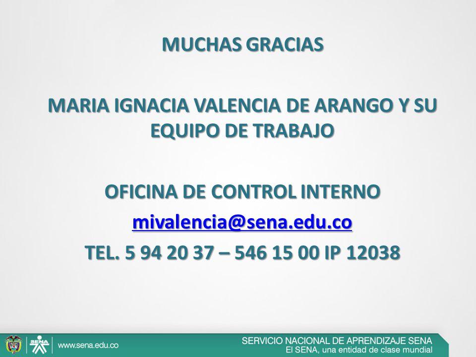 Informe auditorias internas sistema integrado de gesti n for Oficinas de empleo valencia
