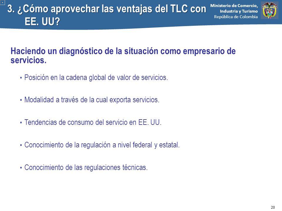3. ¿Cómo aprovechar las ventajas del TLC con EE. UU
