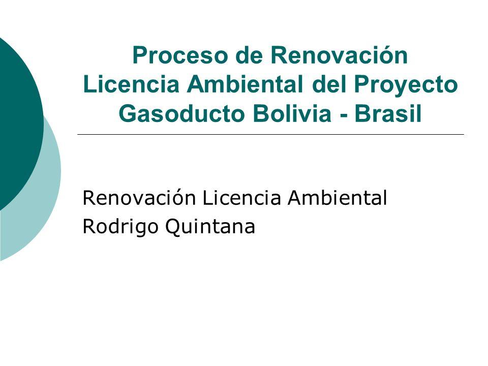 Renovación Licencia Ambiental Rodrigo Quintana