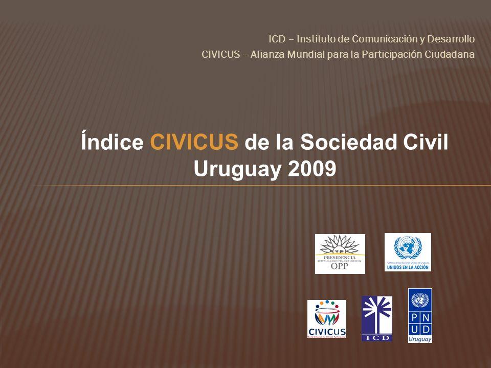 Índice CIVICUS de la Sociedad Civil
