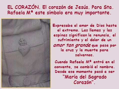 EL CORAZÓN. El corazón de Jesús. Para Sta