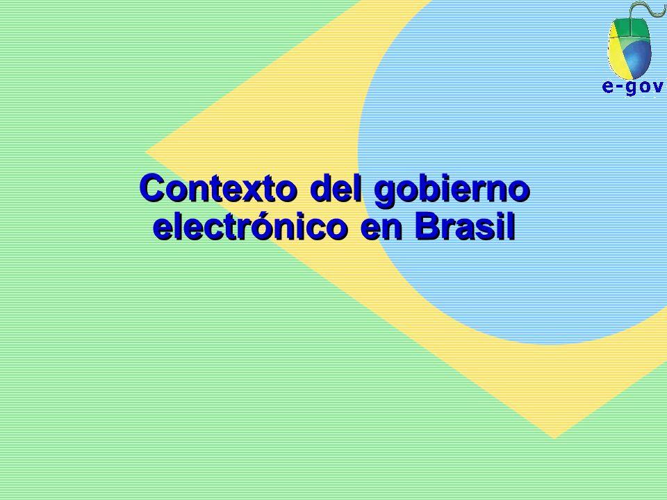 Contexto del gobierno electrónico en Brasil