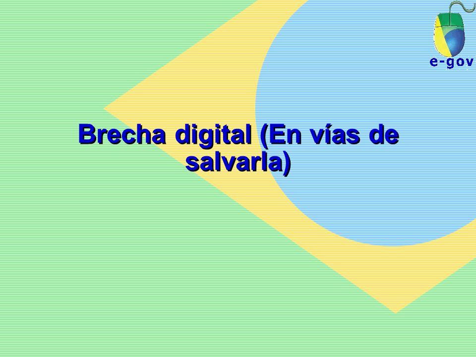 Brecha digital (En vías de salvarla)