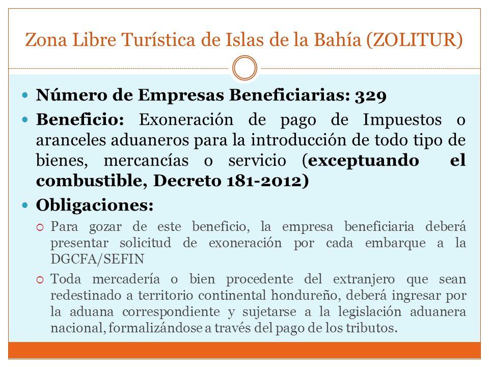Zona Libre Turística de Islas de la Bahía (ZOLITUR)