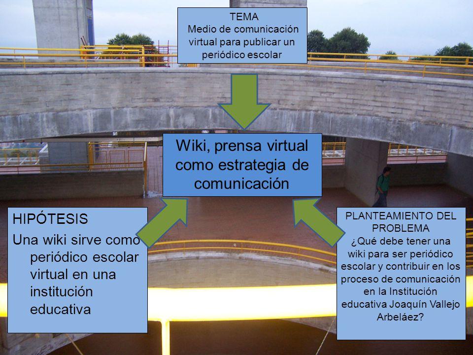 Wiki, prensa virtual como estrategia de comunicación