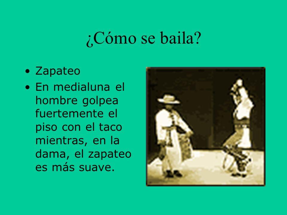 ¿Cómo se baila. Zapateo.