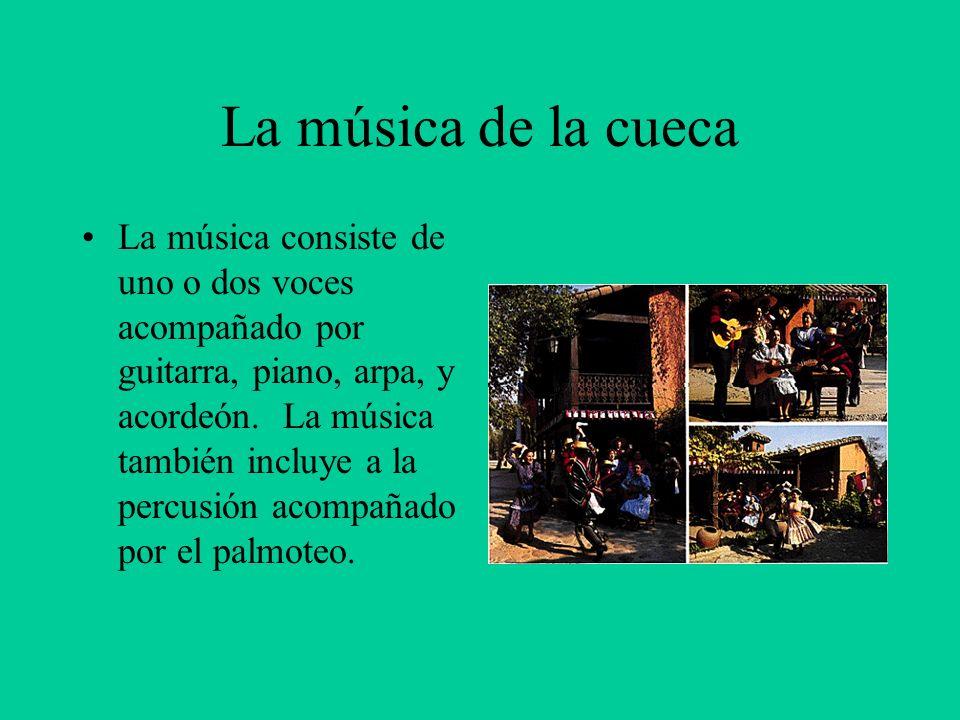 La música de la cueca