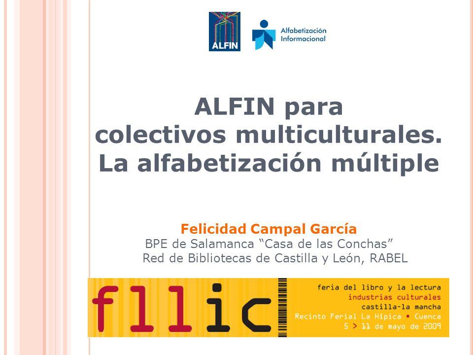ALFIN para colectivos multiculturales