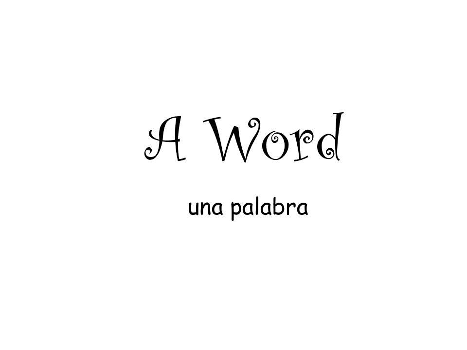 A Word una palabra